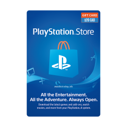 Playstation Network $20 Card (Canada Region)